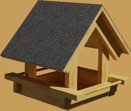 plans de mangeoires couvertes. Black Bedroom Furniture Sets. Home Design Ideas
